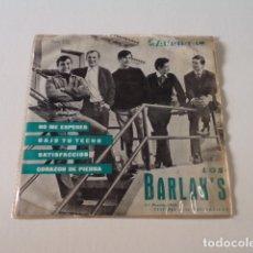 Discos de vinilo: EP BARLAK'S-3 VERSIONES ROLLING STONES-NO ME ESPERES/BAJO TU TECHO/SATISFACCIÓN/CORAZÓN DE PIEDRA. Lote 186295403