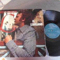 Discos de vinilo: EL LEBRIJANO-LP CANTE SE ESCRIBE CON L. Lote 175688934