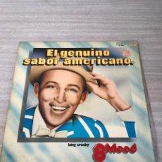 Discos de vinilo: BING CROSBY. Lote 175689157