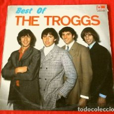 Discos de vinilo: THE TROGGS (LP 1989) BEST OF THE TROGGS - BANDA BEAT DE LOS 60 - WILD THING -NIGHT OF THE LONG GRASS. Lote 175704775