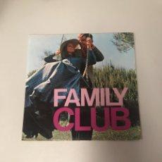 Discos de vinilo: FAMILY CLUB. Lote 175715038