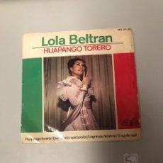 Discos de vinilo: LOLA BELTRÁN. Lote 175719523