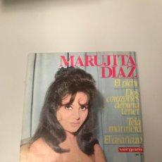 Discos de vinilo: MARUJITA DÍAZ. Lote 175720140