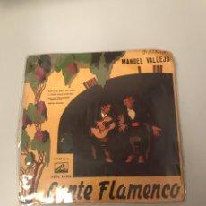 Discos de vinilo: CANTE FLAMENCO. Lote 175720825