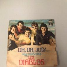 Discos de vinilo: LOS DIABLOS. Lote 175725968