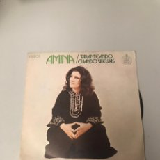 Discos de vinilo: AMINA. Lote 175726250
