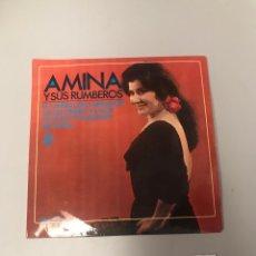Discos de vinilo: AMINA. Lote 175726369