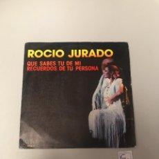 Discos de vinilo: ROCÍO JURADO. Lote 175726480