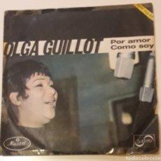 Discos de vinilo: DISCO VINILO SINGLES 45 RPM OLGA GUILLOT. Lote 175729350