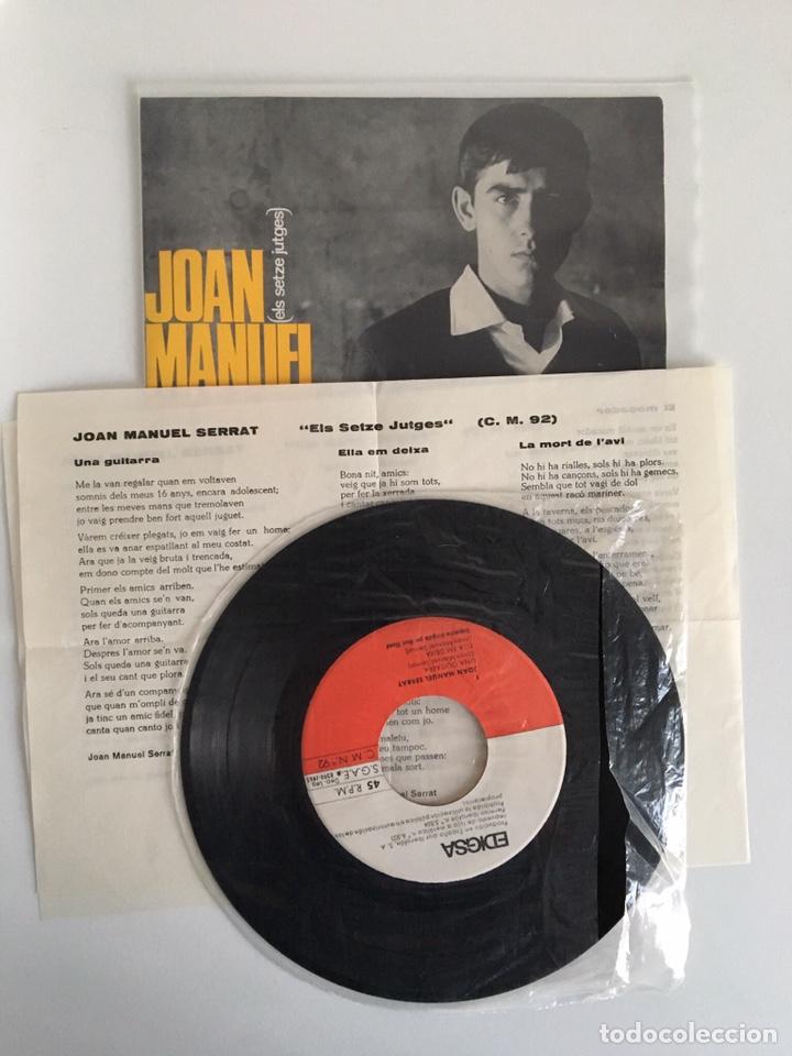 Discos de vinilo: EP vinilo - Joan Manuel Serrat (1965) - Foto 3 - 175736690