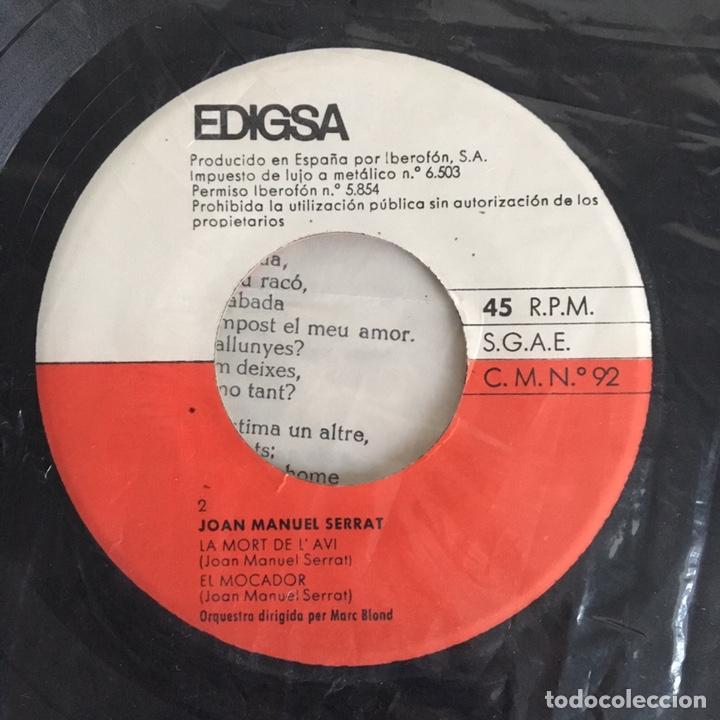 Discos de vinilo: EP vinilo - Joan Manuel Serrat (1965) - Foto 5 - 175736690