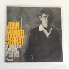 Discos de vinilo: EP VINILO - JOAN MANUEL SERRAT (1965). Lote 175736690