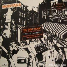 Discos de vinilo: MONYAKA - GO DEH YAKA (GO TO THE TOP) MAXI-SINGLE REGGAE 1983. Lote 175738137