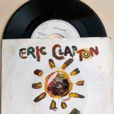 Discos de vinilo: SINGLE ERIC CLAPTON: FOREVER MAN-TOO BAD,ESPAÑA 1985 PROMOCIONAL, BUEN ESTADO (VG+_VG+). Lote 175741710