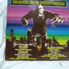 Discos de vinilo: ORIGINAL HITS DISCOTHEQUE-PORTADA KING KONG. Lote 175745808