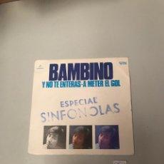 Discos de vinilo: BAMBINO. Lote 175748565