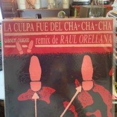 Discos de vinilo: LP LA CULPA FUE DEL CHA CHA CHA - RAUL ORELLANA. Lote 175751679