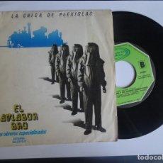 Discos de vinilo: SINGLE AVIADOR DRO , LA CHICA DE PLEXIGLAS , MOVIEPLAY 1980, VER FOTOS Y ESTADO. Lote 175753524