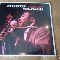 Discos de vinilo: MUDDY WATERS AT NEWPORT 1960. LP VINILO PRECINTADO. Lote 175754950