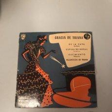 Discos de vinil: GRACIA DE Y RIANA. Lote 175755105