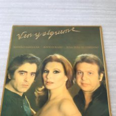 Discos de vinilo: VEN Y SIGUEME. Lote 175760403