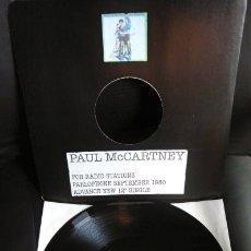 Discos de vinilo: BEATLES PAUL MCCARTNEY MAXI SINGLE ADVANCE 1980 NUEVO ENGLAND TEMPORARY SECRETARY. Lote 175766893