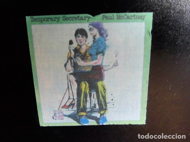Discos de vinilo: BEATLES PAUL McCARTNEY MAXI SINGLE ADVANCE 1980 NUEVO ENGLAND TEMPORARY SECRETARY - Foto 7 - 175766893