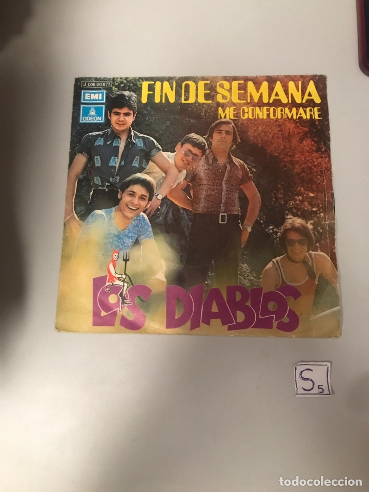 LOS DIABLOS (Música - Discos - Singles Vinilo - Flamenco, Canción española y Cuplé)