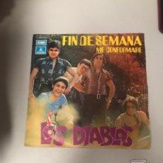 Discos de vinilo: LOS DIABLOS. Lote 175770010