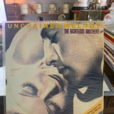 Discos de vinilo: LP UNCHAINED MELODY - THE RIGHTEOUS BROTHERS. Lote 175782840