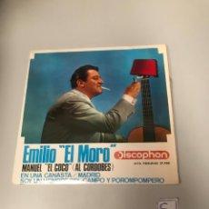 Discos de vinilo: EMILIO EL MORO. Lote 175783148