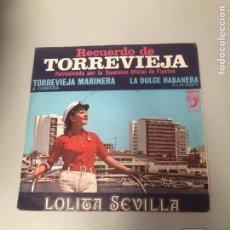 Discos de vinilo: LOLITA SEVILLA. Lote 175786625
