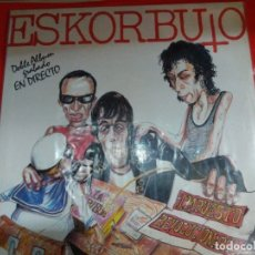 Disques de vinyle: ESKORBUTO IMPUESTO REVOLUCIONARIO 2 LPS 1986 ORIGINAL.. Lote 175797058
