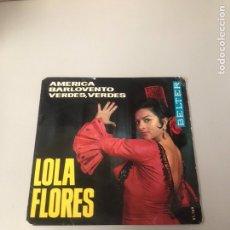 Discos de vinilo: LOLA FLORES. Lote 175797648