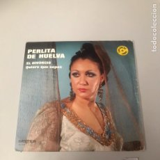 Discos de vinilo: PERLITA DE HUELVA. Lote 175798108
