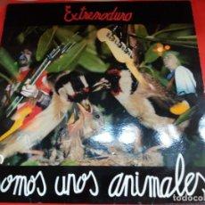 Discos de vinilo: EXTREMO DURO SOMOS UNOS ANIMALES,1991.. Lote 175800200