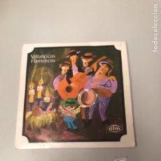 Discos de vinilo: VILLANCICOS FLAMENCOS. Lote 175800259