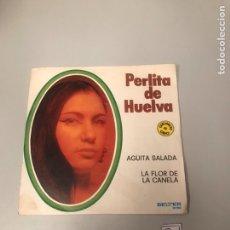 Discos de vinilo: PERLITA DE HUELVA. Lote 175800620