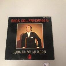 Discos de vinilo: JUAN EL DE LA VARA. Lote 175801125