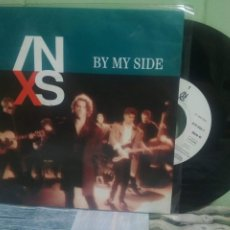 Discos de vinilo: INXS BY MY SIDE SINGLE GERMANY 1990 PDELUXE. Lote 175807684