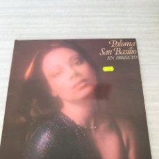 Discos de vinilo: PALOMA SAN BASILIO. Lote 175809733