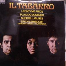 Discos de vinilo: PUCCINI, IL TABARRO. RCA 1973. Lote 175811723