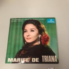 Discos de vinil: MARIFE DE TRIANA. Lote 175812989