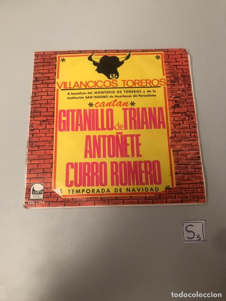 VILLANCICOS TOREROS (Música - Discos - Singles Vinilo - Flamenco, Canción española y Cuplé)