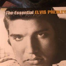 Discos de vinilo: THE ESSENTIAL ELVIS PRESLEY 2 LP PRECINTADO. Lote 175830097