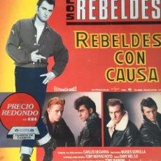 Discos de vinilo: LOS REBELDES. REBELDES CON CAUSA. Lote 175835164