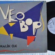 Discos de vinilo: NEOBOP - '' MALIK O.K '' LP ORIGINAL 1985 SPAIN. Lote 175836787
