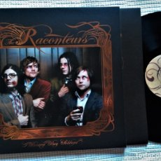 Discos de vinilo: THE RACONTEURS - '' BROKEN BOY SOLDIERS '' LP + INNER + POSTER 2006 UK. Lote 175839103