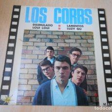 Discos de vinilo: LOS CORBS, EP, DISIMULADO + 3, AÑO 1966. Lote 175858047
