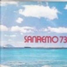 Discos de vinilo: COMPILAZIONE ITALIANA SANREMO 73 LABEL RICORDI ITALY 1973 . Lote 175858495